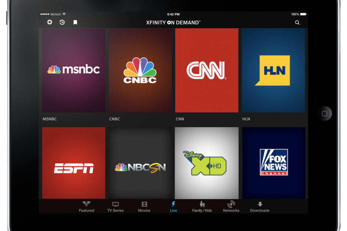 Comcast's Xfinity TV Go app now available, offers live TV