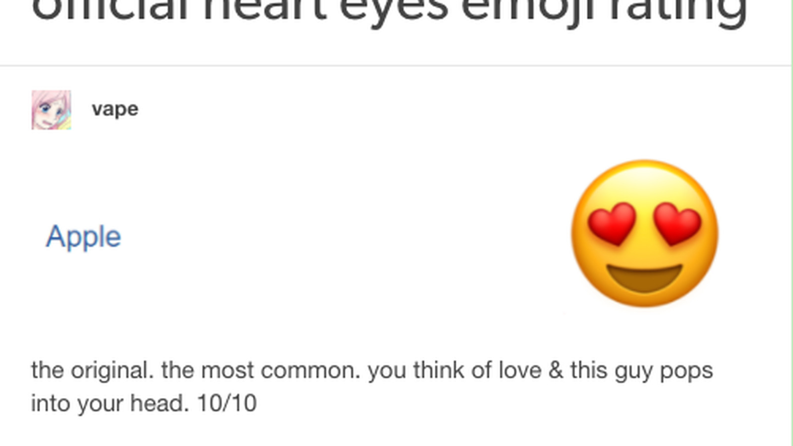 The Best New Genre Of Blog Is Emoji Review The Verge