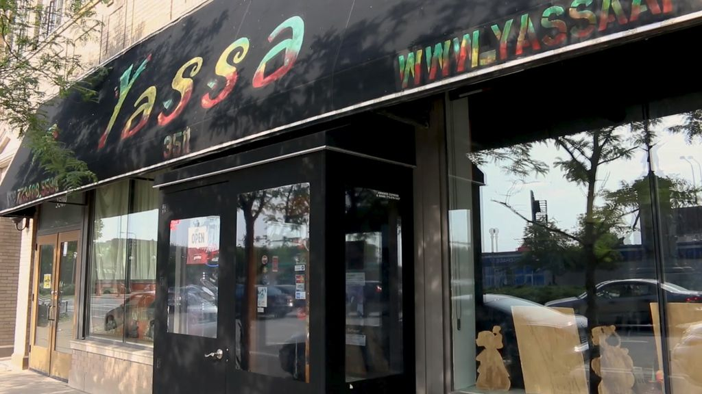 Yassa Restaurant is located at 3511 S. King Dr. in Bronzeville.   Brian Rich/Sun-Times