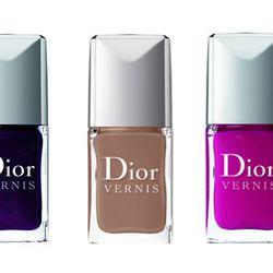 "<b>Dior</b> nail colors in Purple Revolution, Graphic Berry, <a href=""http://www.bergdorfgoodman.com/store/catalog/templates/P9.jhtml?itemId=cat272802&parentId=cat243403&masterId=cat000005&cmCat=null&view=all&filter1Type=DZ&filter1Value=Dior%20Beauty&filt"