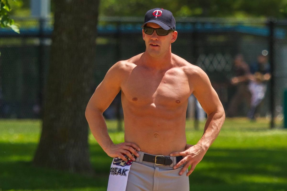 Scott Cooper played for the Minnesota Freak at the Gay Softball World Series