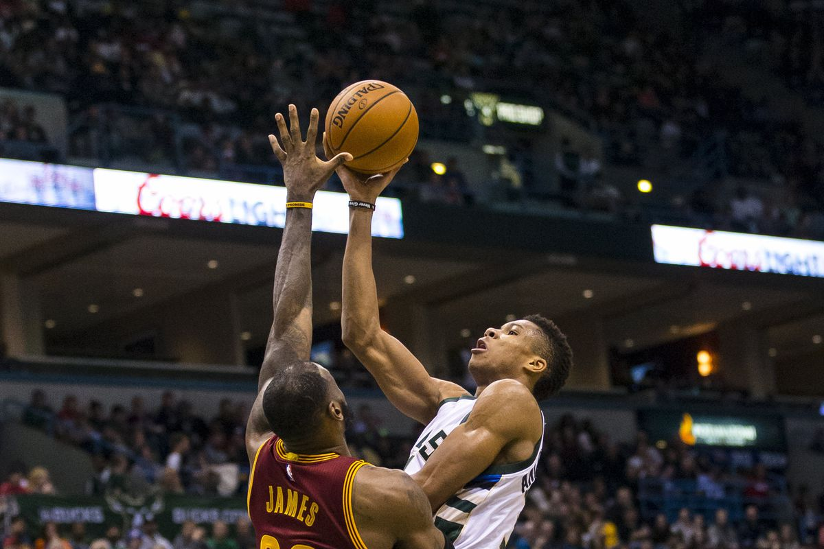 the latest 5048a 6522a NBA scores 2016  LeBron James knows Giannis Antetokounmpo is a rare  challenger