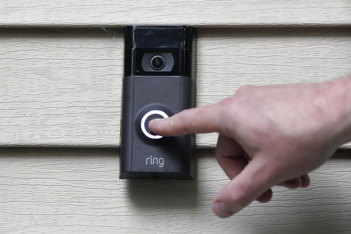 Video doorbells could do a lot in the city's fight against crime, Chicago Ald. Ray Lopez said. His own doorbell video captured a brick-throwing incident.