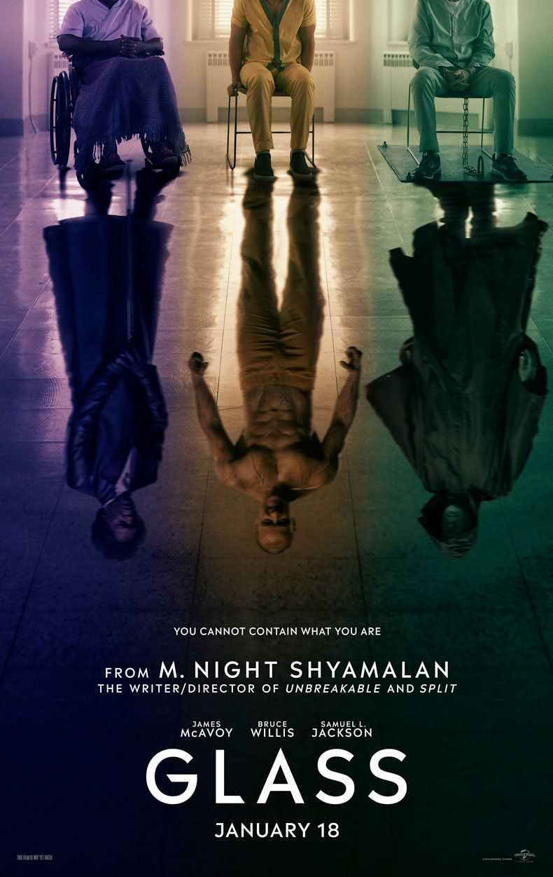 Glass Trailer Unbreakable And Split Merge Into Something Creepy