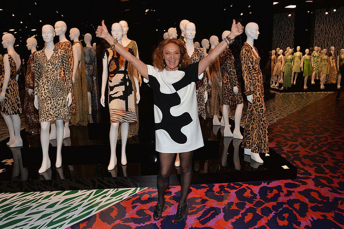3333f03d2b Share The Diane von Furstenberg Sample Sale Is Finally Happening Again.  tweet share Reddit Pocket Flipboard Email. Photo  Michael Buckner Getty  Images