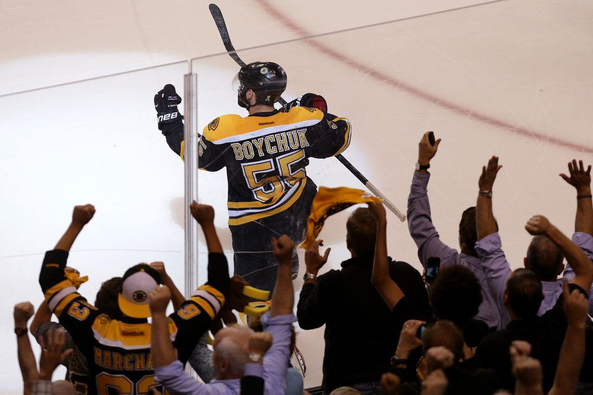 Chicago Blackhawks Vs. Boston Bruins At TD Garden