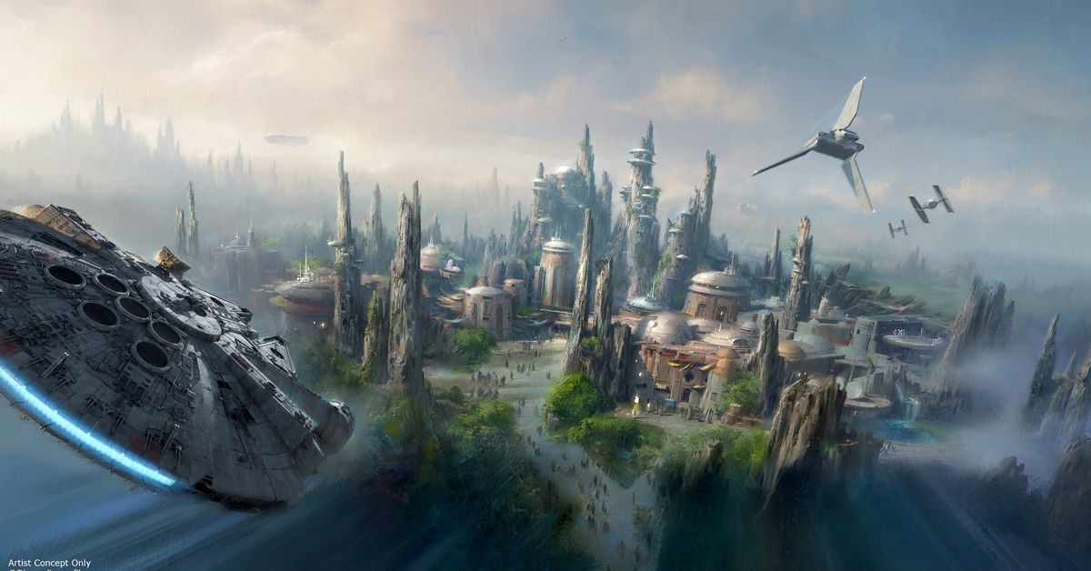 Disney's new Star Wars theme park opening dates announced