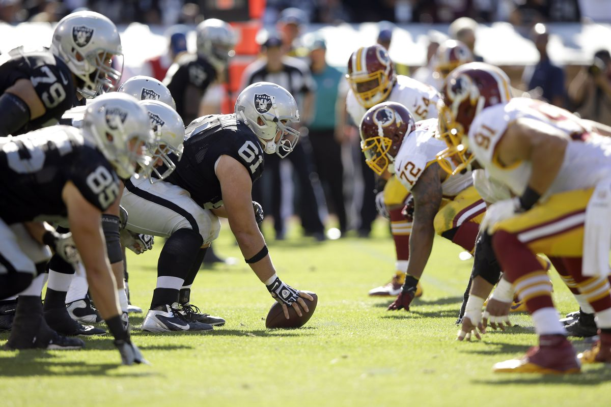 Washington Redskins v Oakland Raiders