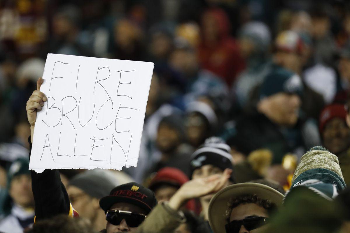 NFL: Philadelphia Eagles at Washington Redskins