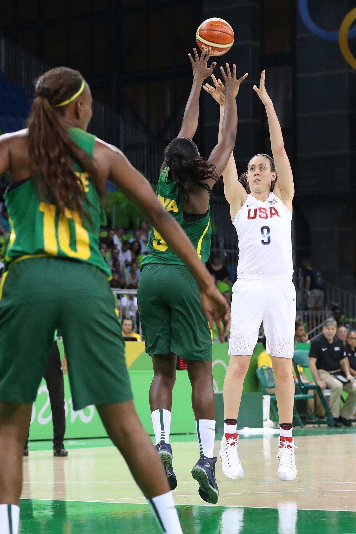 Olympics: Basketball-Women's Team-Preliminary Round Group B-USA vs SEN