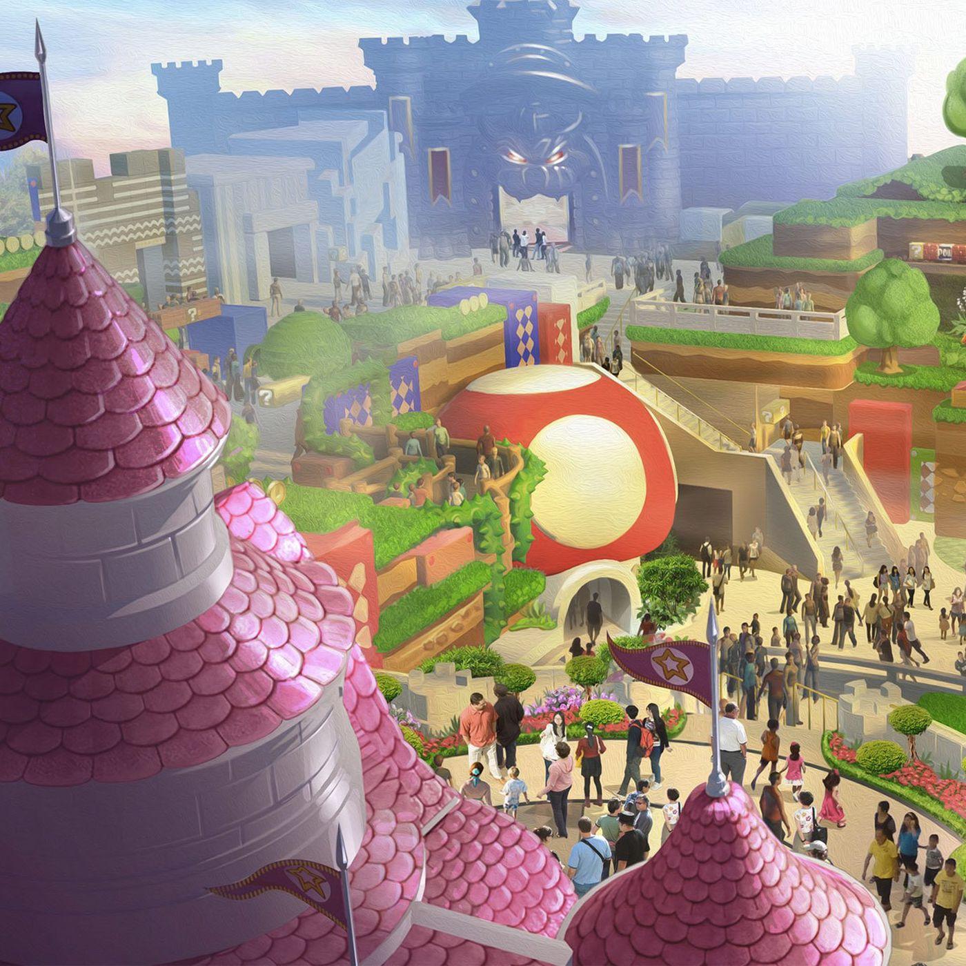 Nintendo S First Universal Studios Park Attraction Is Called Super Nintendo World Polygon