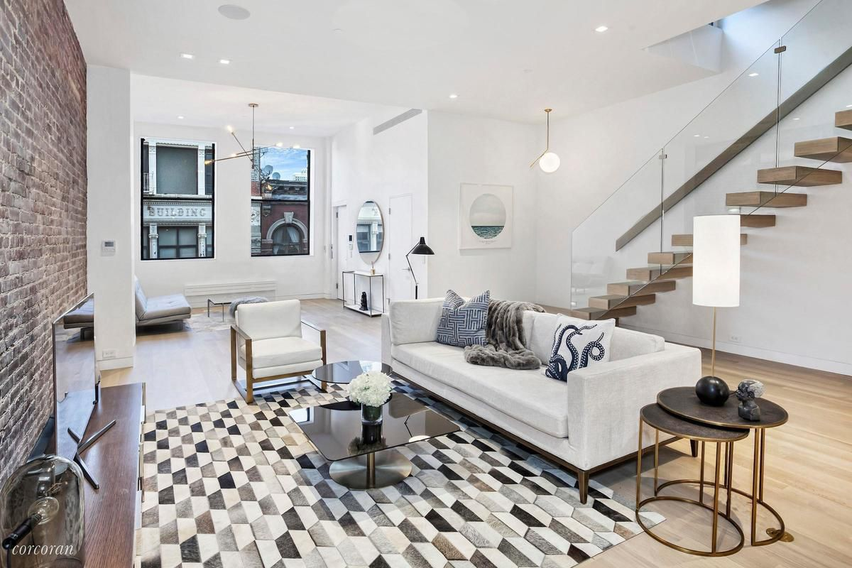 Minimalist Tribeca penthouse with tons of outdoor space asks $8M ...