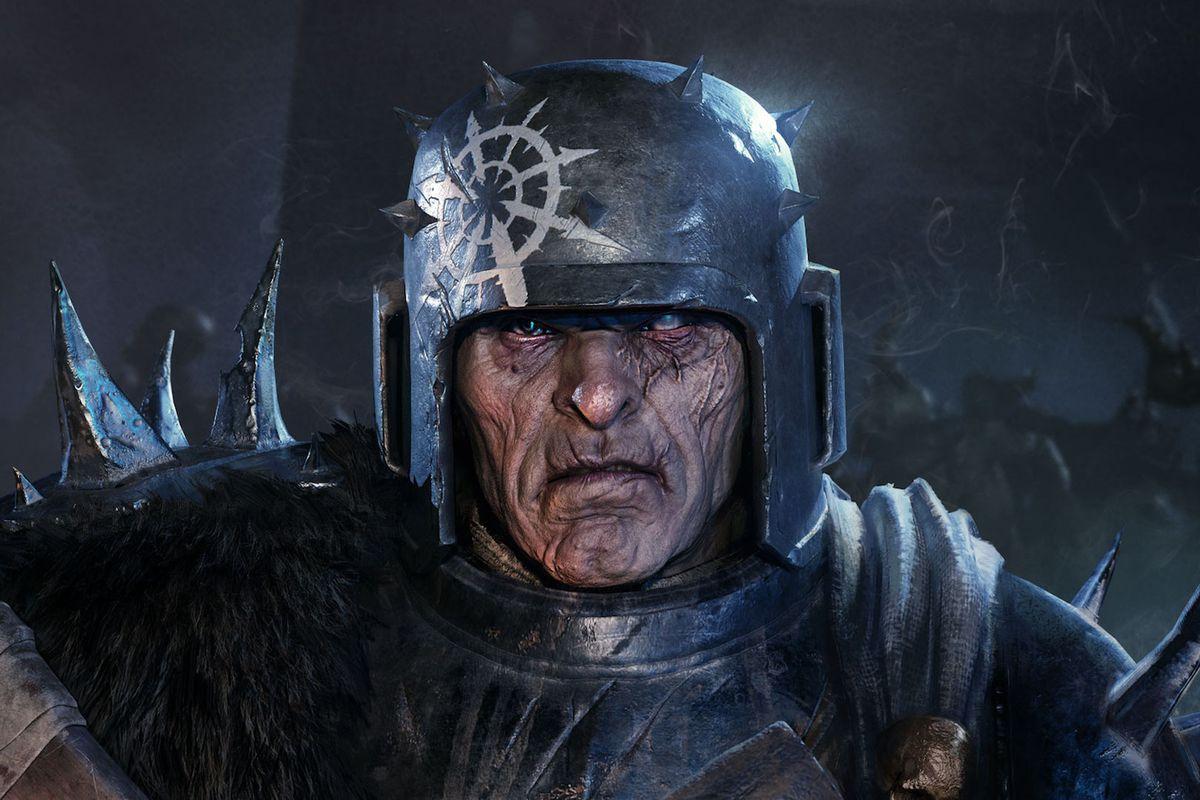 A grunt from Warhammer 40,000: Darktide
