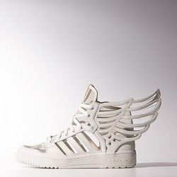 """Jeremy Scott Wings 2.0 Cutout Shoes, <a href=""""http://www.adidas.com/us/product/unisex-originals-wings-20-cutout-shoes/ISW06?cid=M29012&breadcrumb=1z13071Z1z11zrfZ1z132gn"""">$220</a> at Adidas"""