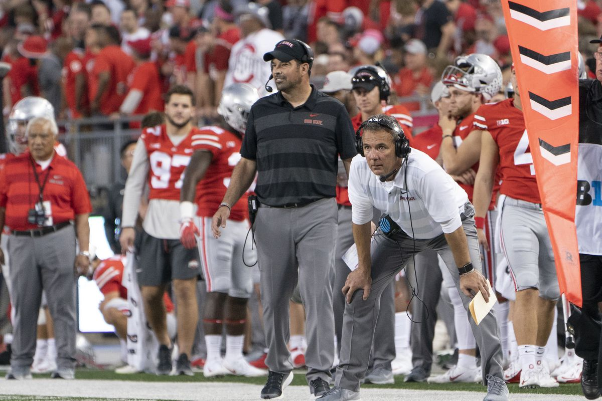 urban meyer wins final game as ohio state head coach 28 23 over washington in rose bowl