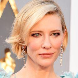 Cate Blanchett in Tiffany & Co. earrings