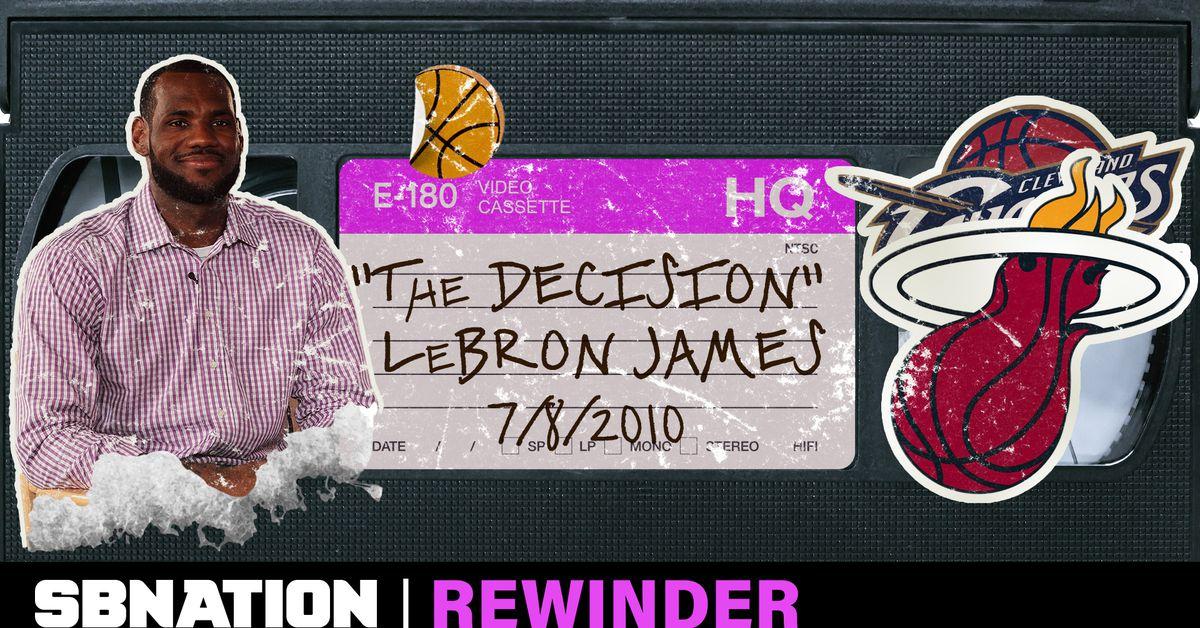 The Decision Deserves A Deep Rewind Sbnation Com