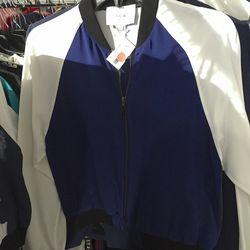 Mirrored silk jacket, $50 (was $550)