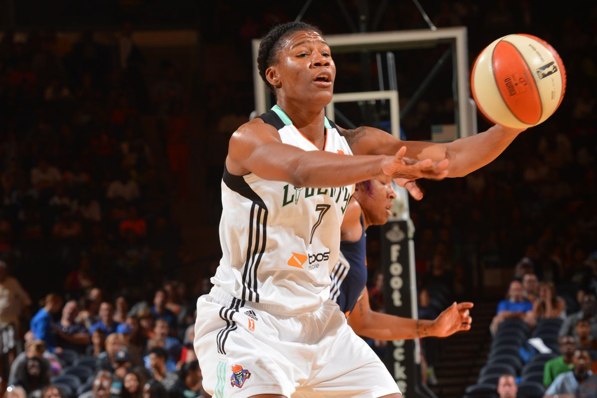 Avery Warley-Talbert had a double-double in the New York Liberty's win against the Connecticut Sun.