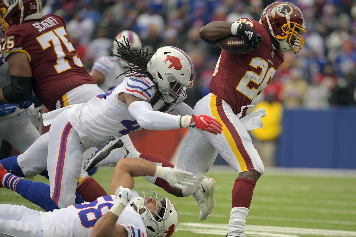 Buffalo Bills and the Washington Redskins