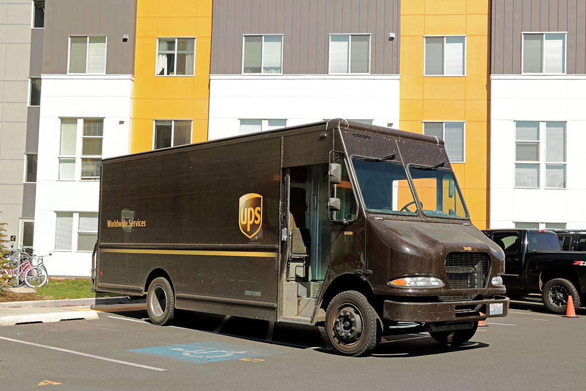 United Parcel Service truck