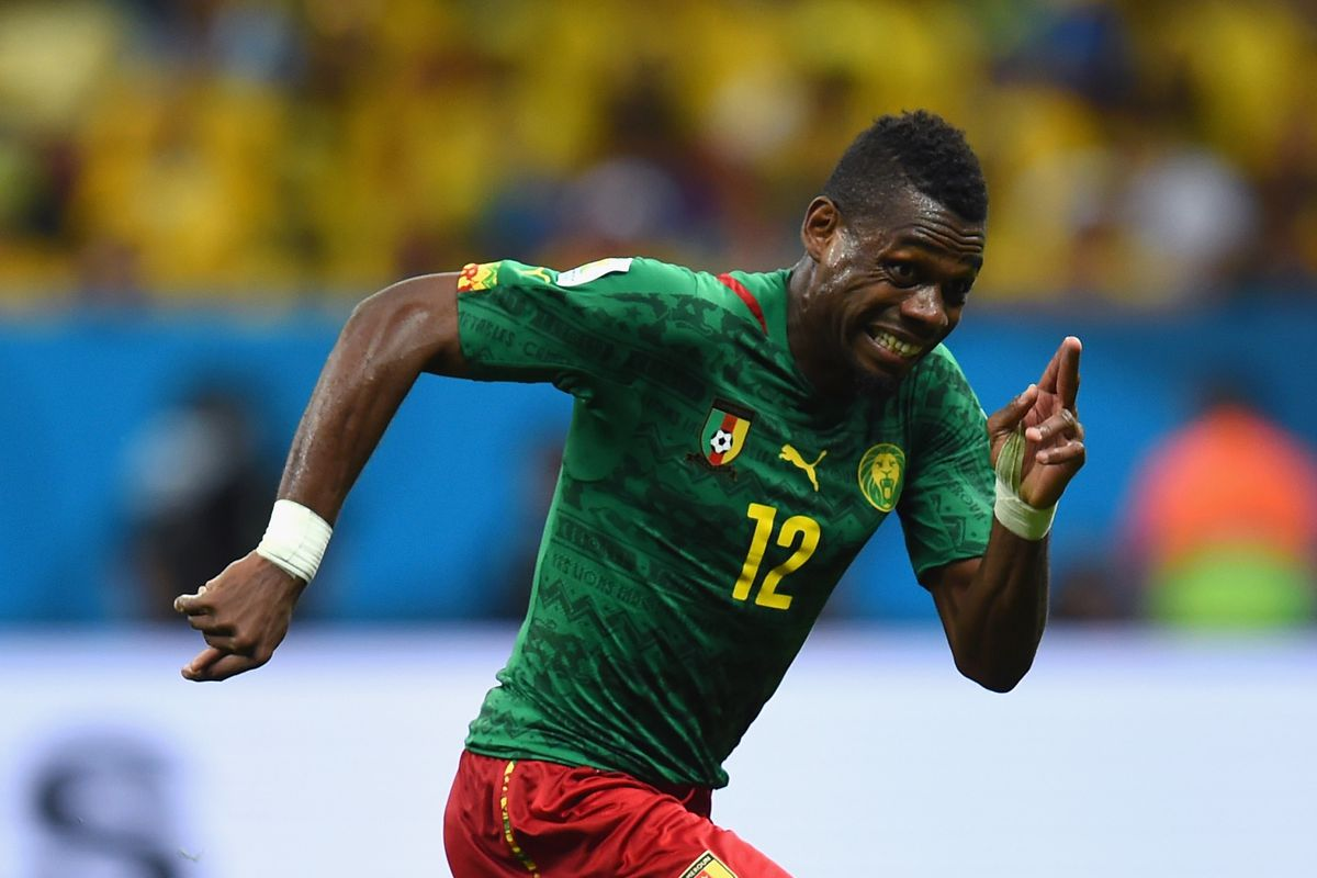 Henri Bedimo - Cameroon's starting left back and the reason Oyongo tends to play RB for his country at the moment