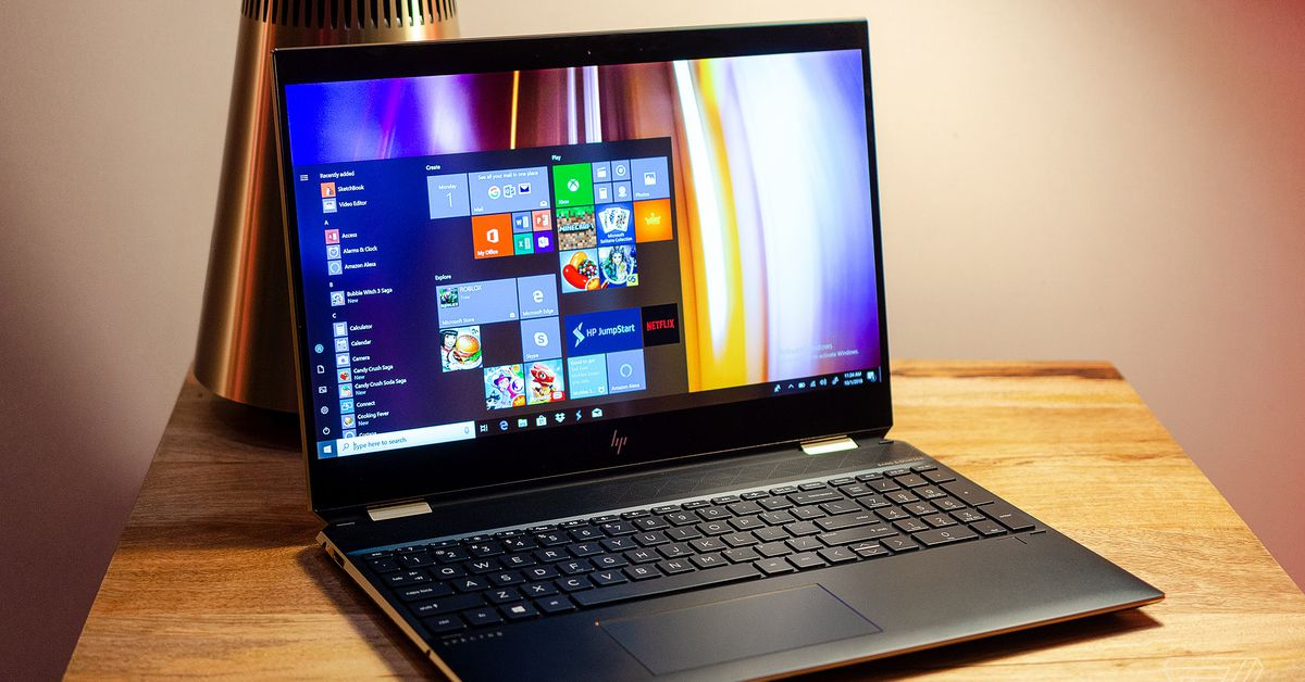 HP's latest Spectre x360 has a new angular design and 22.5 ...