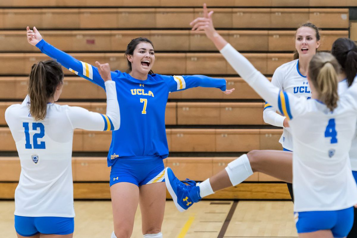 new style c9129 63466 UCLA Women's Volleyball Takes On Marquette In Rainbow Wahine ...