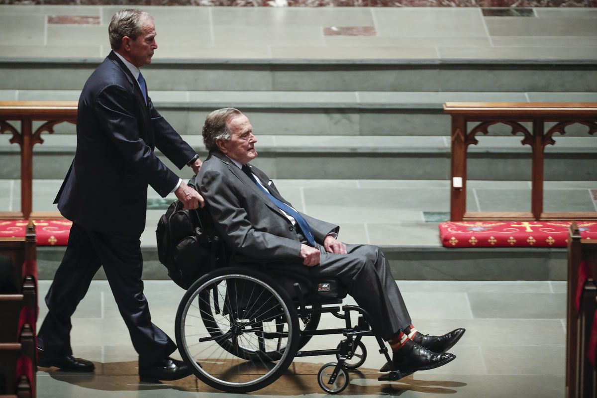 Mourners, Including Former Presidents, Attend Funeral For Barbara Bush