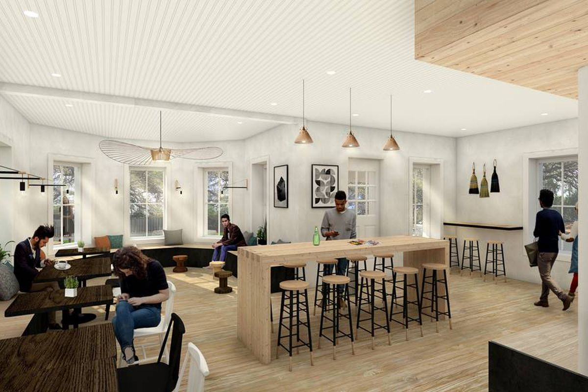 Rendering of Stonehouse Coffee