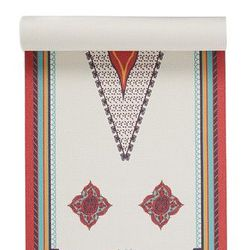 Upgrade mom's yoga mat with this clever design, made to look like an Oriental rug.