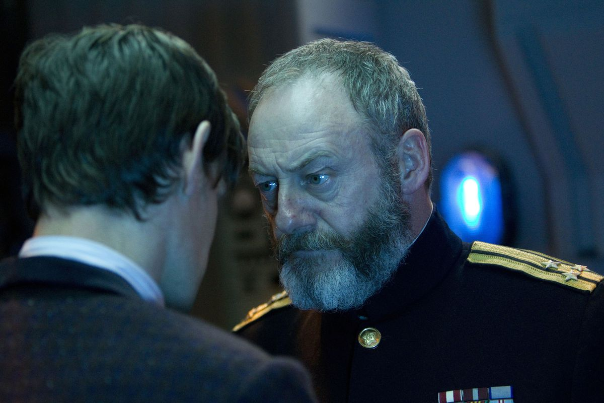 Doctor Who - Liam Cunningham as Capt. Zhukov in 'Cold War' episode