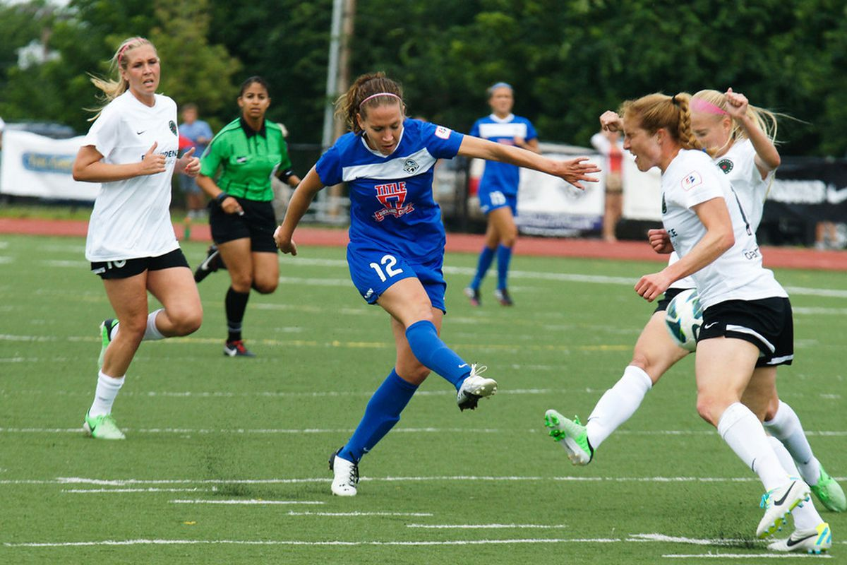LAuren Holiday was named NWSL Player of the Week