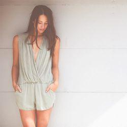 "<strong>Sam and Lavi</strong> Julia Romper, <a href=""http://miramirasf.com/collections/sam-lavi/products/julia-romper"">$128</a> at Mira Mira"