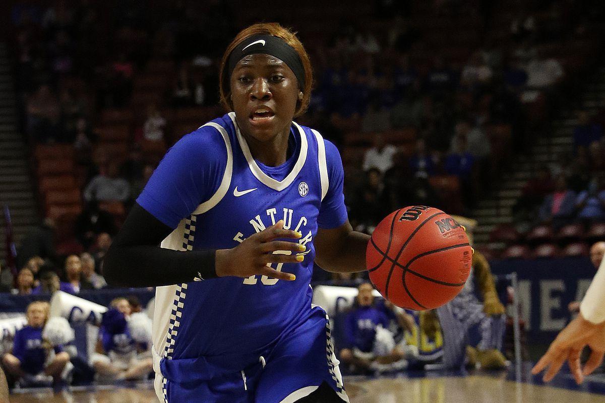 COLLEGE BASKETBALL: MAR 07 SEC Women's Tournament - Kentucky vs Mississippi State