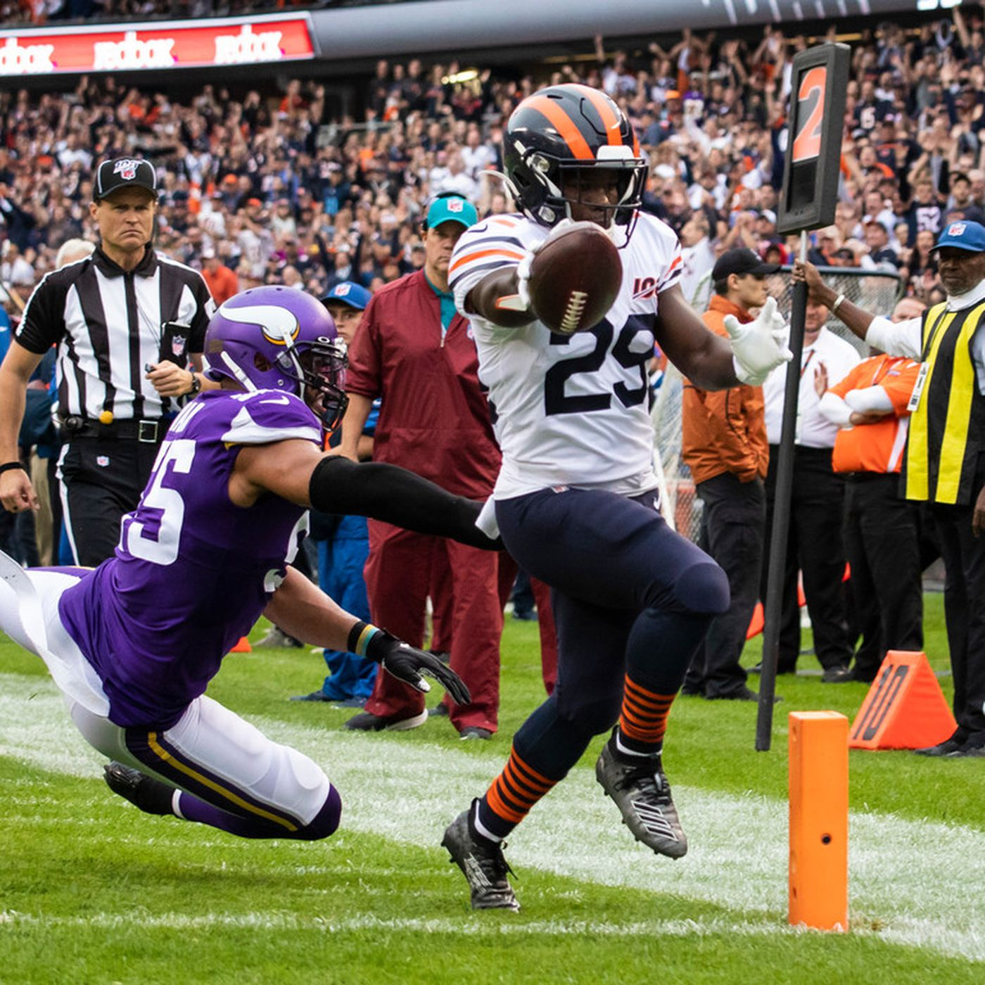 Bears Vs Vikings 2019 Score Updates And Highlights Chicago Sun Times