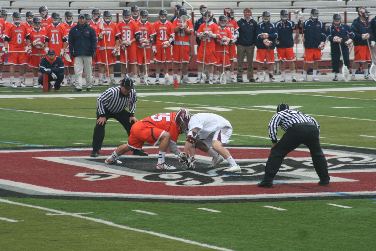 Bucknell and Colgate have a faceoff