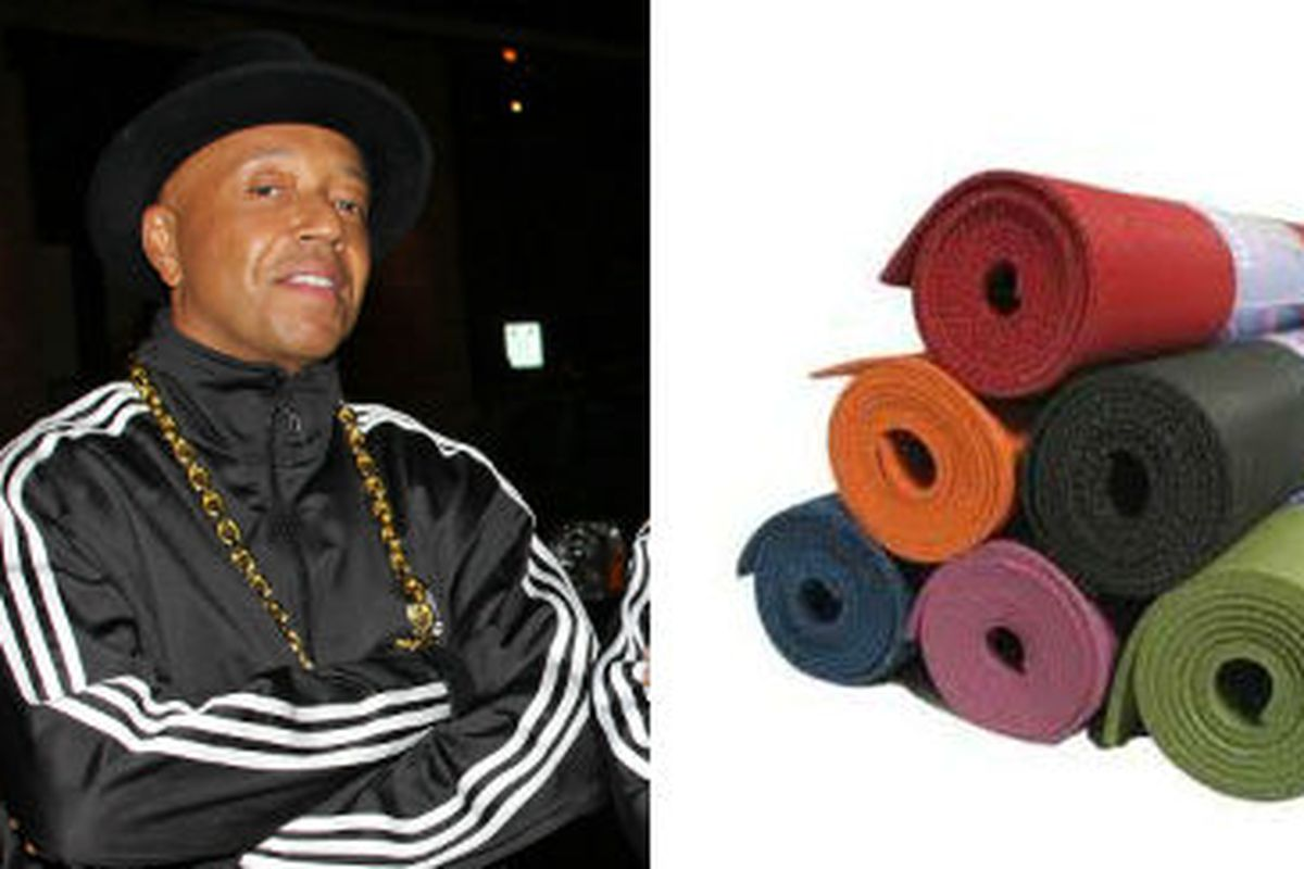 Yoga is about to get so much cooler. Russell Simmons, via Getty