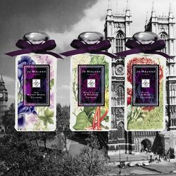 <strong>Jo Malone</strong>'s latest round of limited-edition fragrances, London Blooms, were inspired by the classic scents of English gardens.
