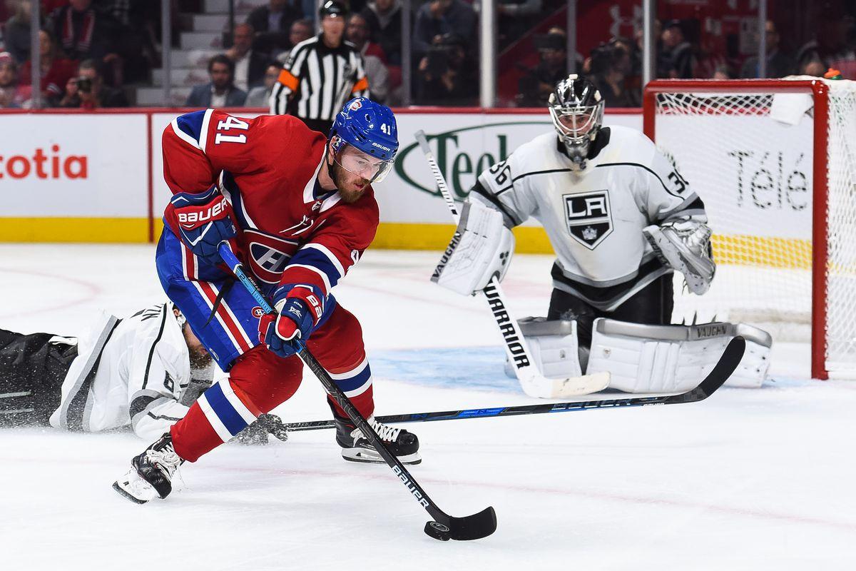 NHL: OCT 11 Kings at Canadiens