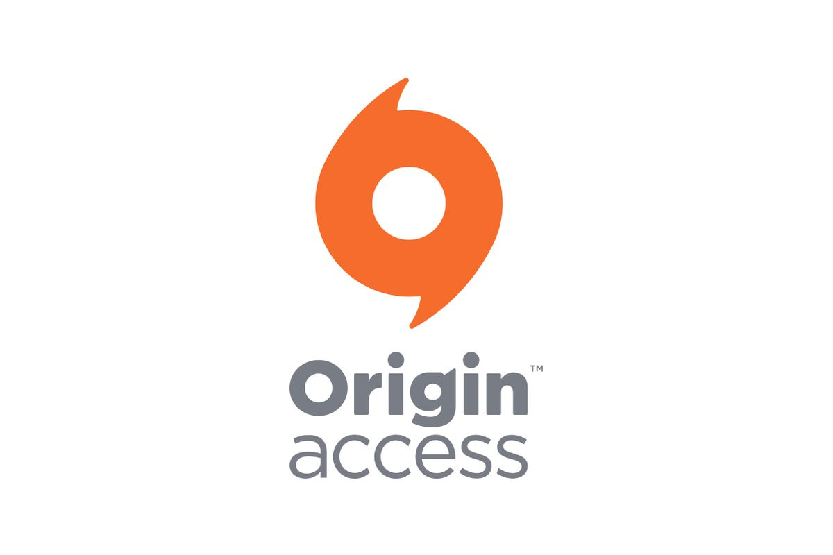 The logo for Origin Access on a white background