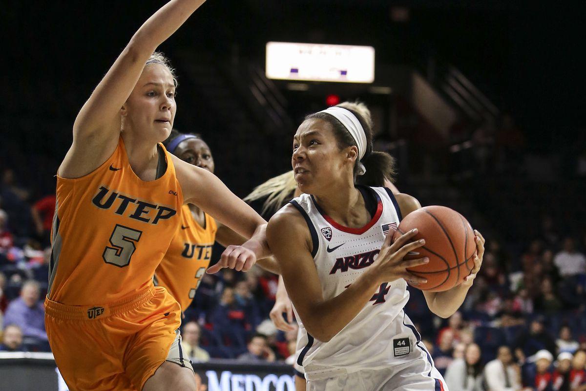COLLEGE BASKETBALL: DEC 17 Women's UTEP at Arizona