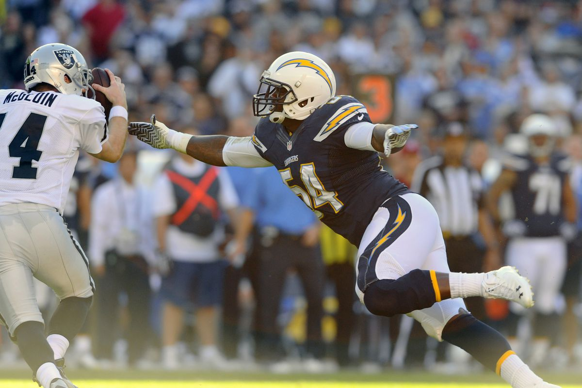 Melvin Ingram is Defying the Odds Boosting the Chargers Defense