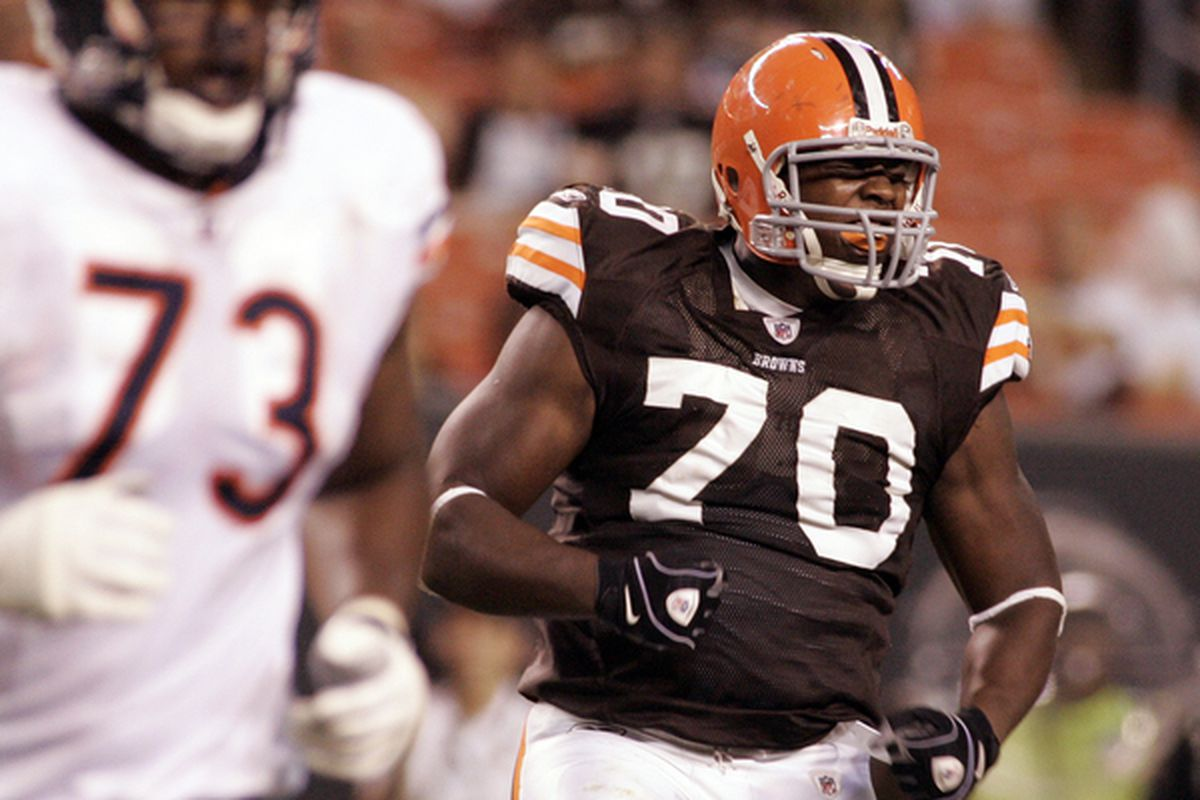 Cleveland Browns DL Brian Sanford made the practice squad.