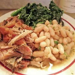"""Porchetta platter by <a href=""""http://www.flickr.com/photos/50772153@N07/5603264957/in/pool-eater/"""">CarbZombie</a>."""