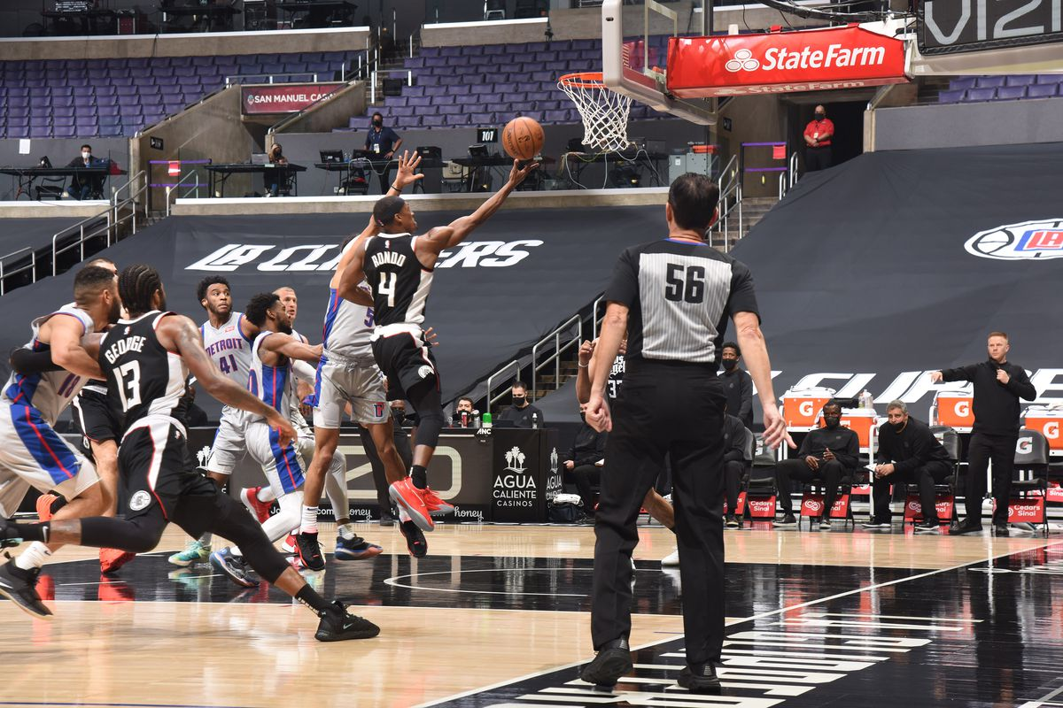 Detroit Pistons vs. Los Angeles Clippers