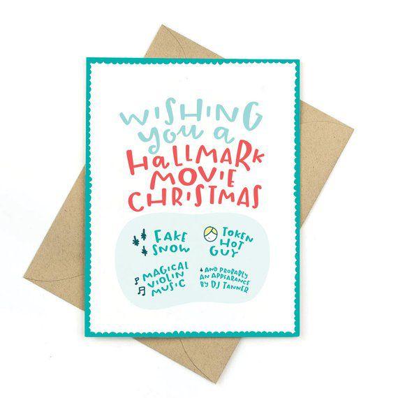 Hallmark Movie Christmas Card