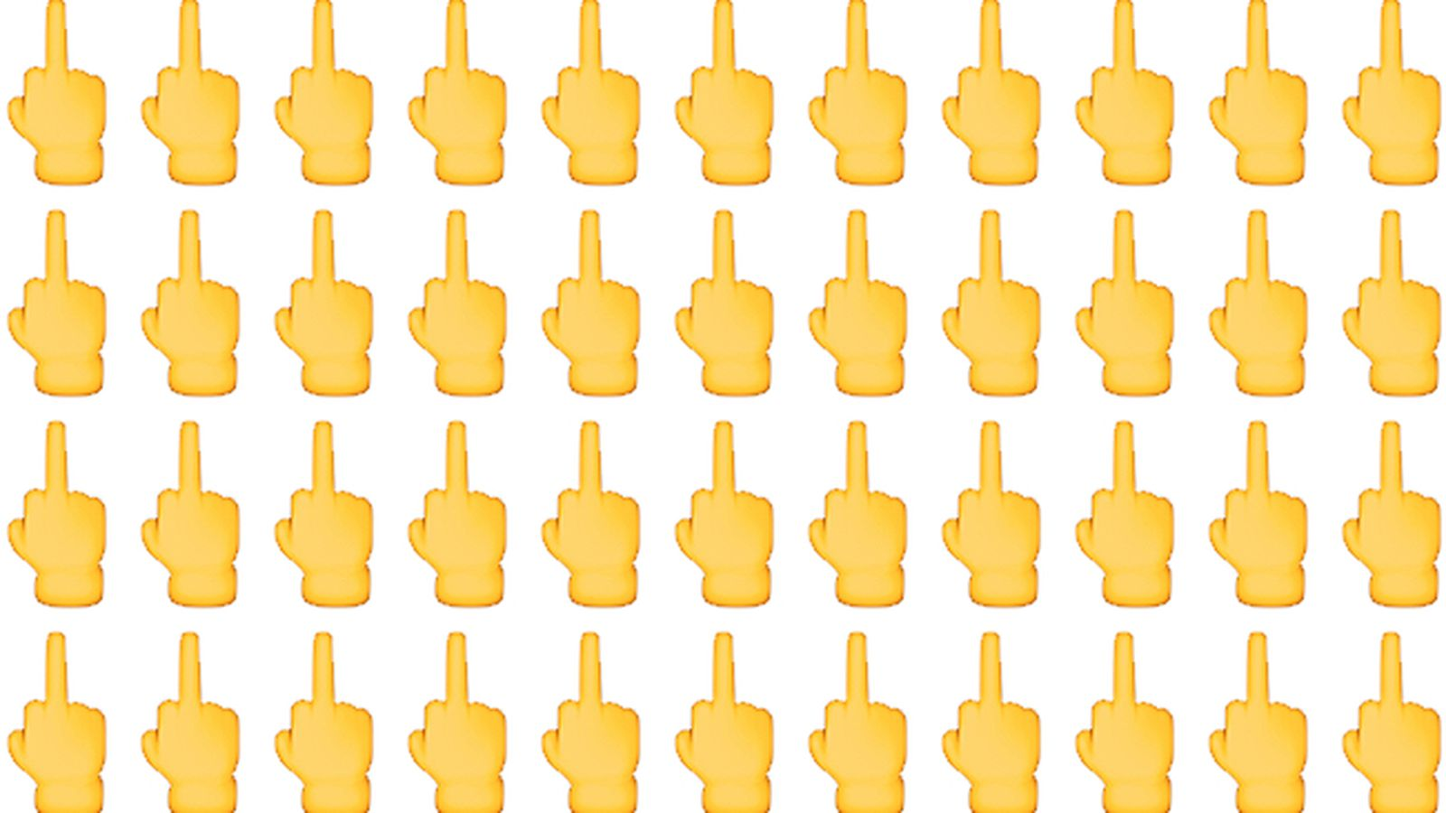 Ios 91 Will Let You Send People The Middle Finger Emoji The Verge