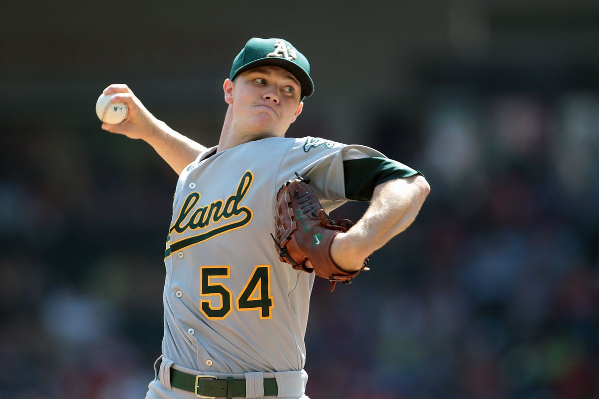 This is the most Sonny Gray photo ever -- it contains both sunshine and a gray uni.