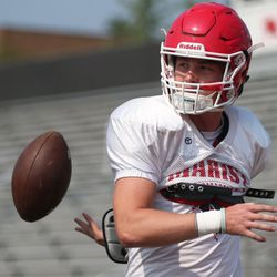 Marist's Billy Skalitzky  during a practice. Allen Cunningham/For the Sun-Times.